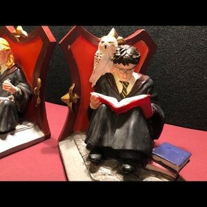 Harry Potter and Hermione Bookends